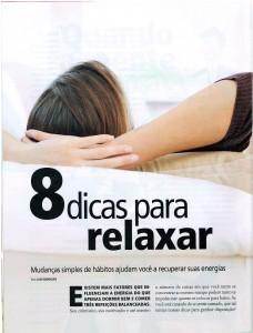 Revista Vença o Cansaço – 8 Dicas Para Relaxar