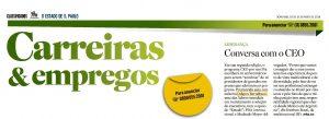O Estado de S. Paulo – Como é ser executivo em um mundo globalizado