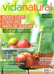 Revista Vida Natural – Adoce tudo sem usar açúcar