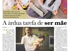 Jornal Folha Universal– A Árdua Tarefa de Ser Mãe